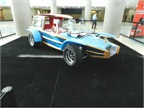 The Calico Surfer designed by the late George Barris, the creator of