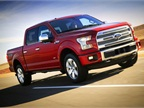 Ford s redesigned 2015 F-150 arrives with an all-aluminum body.