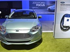 Ford brough its Focus Electric to the show.