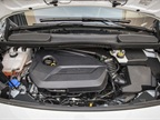 This Transit Connect is powered by the optional 1.6L EcoBoost engine.