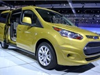 Ford brought the passenger version of its all-new 2014-MY Transit