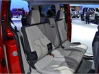 Ford also brought the short wheelbase version of the Transit Connect