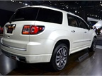 The GMC Acadia Denali feature a rear view camera as standard as well