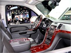 For 2013, the GMC Acadia features a color touch screen infotainment