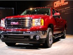 GM had its GMC Sierra at the auto show.