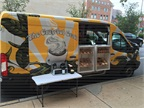 The Grateful Grail (@gratefulgrail) mobile coffee shop cruises around