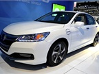 Another Honda model at the show was the automaker s new 2014-MY Accord