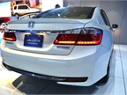 The Accord plug-in hybrid will qualify for HOV-lane use in California,