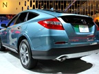 The 2013-MY Honda Crosstour offers the automaker s new  Earth Dreams