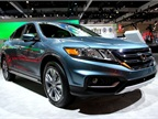 Honda brought its 2013-MY Crosstour to the show.