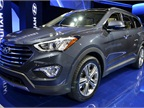 Hyundai brought its all-new six/seven-passenger Santa Fe to the auto