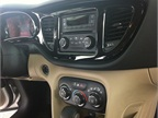 The center console of the 2013 Dodge Dart.