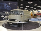 Mercedes-Benz brought some of its older models to show how far its