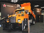 Western Star showcasedits 4700SF Snow Plow, which featured a