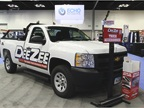 Truck accessories group DeeZee displays its product offerings,