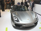 The Porsche 918 Spyder is a V-8 PHEV with a seven-speed transmission