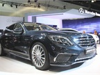 The 2015 Mercedes-Benz S65 AMG sedan is powered by a twin-turbocharged