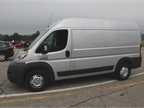 This ProMaster 1500 high-roof cargo van has a 136-inch wheelbase.
