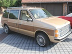 The 1984 Dodge Caravan utilized uni-body construction and front-wheel