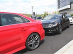 Attendees were given a chance to drive most Audi and Volkswagen