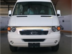 The all-electric Chanje V8070 van is estimated to have a range of 100