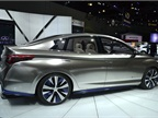 The Infiniti LE electric vehicle concept is designed to show the