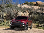 The Selec-Terrain feature on the Jeep Cherokee Trailhawk model can