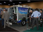 Leggett and Platt had one of its vehicles at the show and showed a