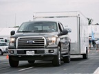 Fleet managers were given the opportunity to test the trailering