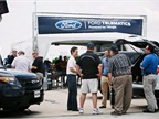 Ford showcased its telematics offerings powered by Telogis. Attendees