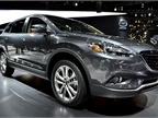 Mazda refreshed its seven-passenger CX-9 for the 2013 model-year.