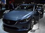 Mazda brought its all-new 2014-MY Mazda6 sedan to the LA Auto Show.