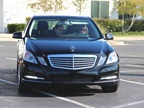 Mercedes brought an E-350 Bluetec clean diesel to the show. Photo by