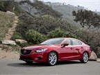 The 2016-MY Mazda6 is powered by a 2.5-liter inline-4 producing 184 hp