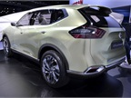 The Hi-Cross concept features a hybrid (gasline engine and electric
