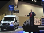 Len Deluca, director of commercial truck sales and marketing for Ford,