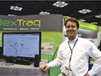 Frank Schieber with Nextraq, a telematics company for fleets. The