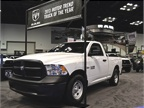 The Ram 1500 was on display, boasting its 2013 Motor Trend Truck of