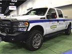 Venchurs Vehicle Systems brought its Ford 6.2L F-250/F-350 CNG
