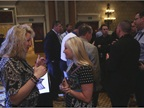 Networking was also a key component of the opening night event. Photo: