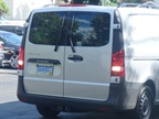 The active parking assist is available on the Metris van.