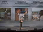 The theme of the presentation by Ed Peper, VP for GM Fleet &