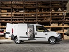 Side-sliding doors help fleet drivers access the cargo area.