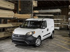 The ProMaster City is based on the Fiat Doblo offered in Europe.