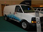 ROUSH CleanTech brought one of its propane-autogas-fueled E-350 vans