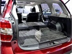 The 2014 Subaru Forester features a power rear liftgate with automatic