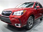 Subaru showed its all-new 2014-MY Forester at the auto show.