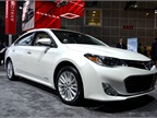 Toyota brought its all-new 2013-MY Avalon to the show. The automaker