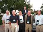 (L-R) The winning golf team at the Toyota golf tournament included