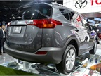One of the major changes from the previous RAV4 is a change to a rear